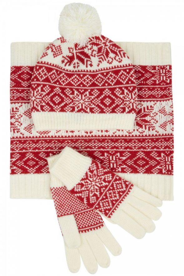 Zimowy niezbędnik Norweski komplet