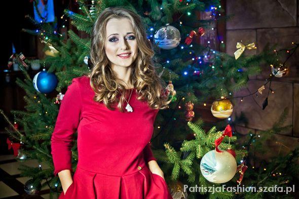 Na specjalne okazje świąteczna stylizacja