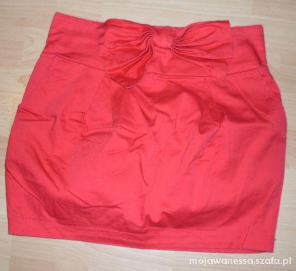 Spódnice czerwona krutka spódniczka