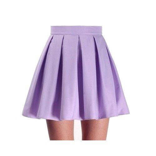 Spódnice fiolkowa spodnica fashion land