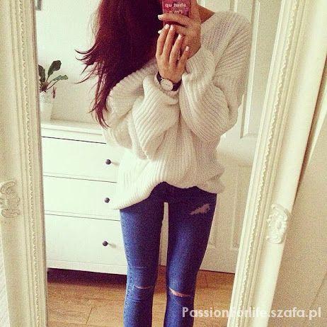 Codzienne Duży sweter