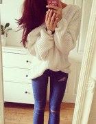 Duży sweter