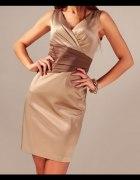 Elegancka wieczorowa sukienka w rozmiarze 46