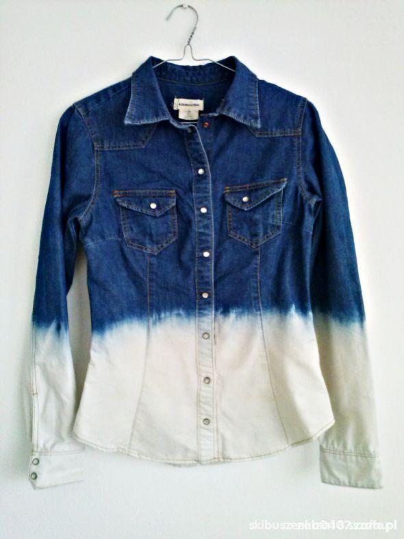 Koszula jeansowa ombre h&m...