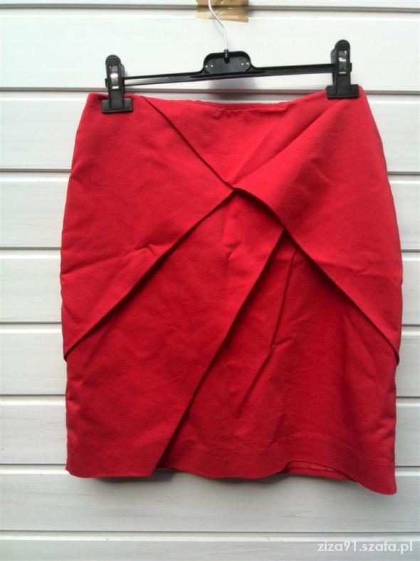 Spódnice Spodnica H&M nowa niska cena czerwona