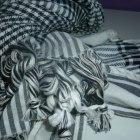 arafatka bialo czarna