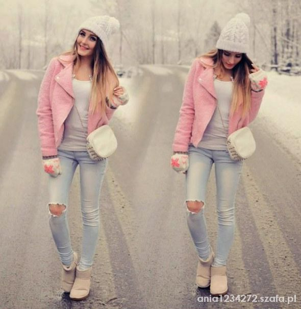 Zimowa kolorowa