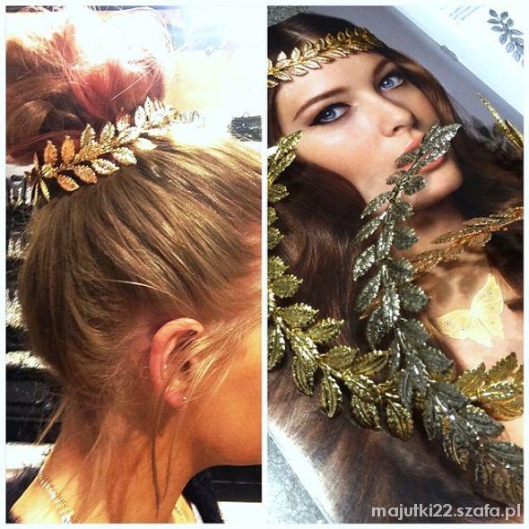 Glitter grecka bogini do włosów...