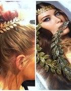 Glitter grecka bogini do włosów
