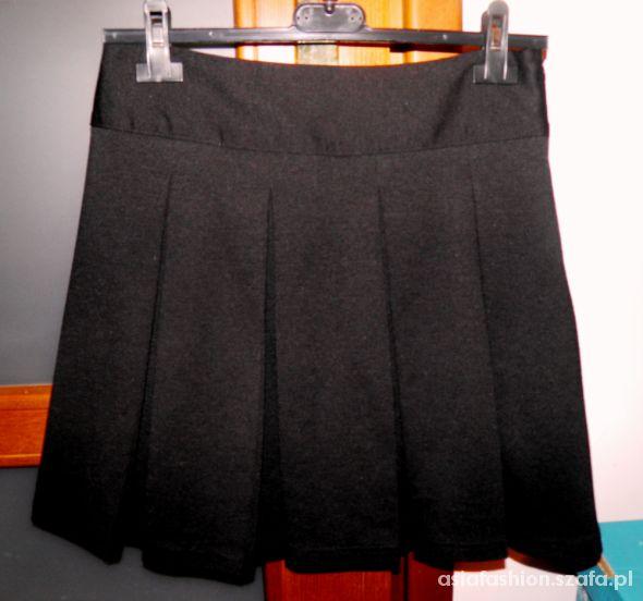 Spódnice spódnica papaya 36 rozkloszowana plisy