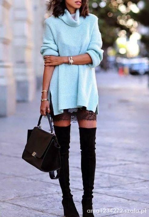 Codzienne kokieteryjny sweterek