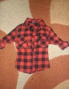 Modna koszula w kratę