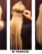 treski dopinki clip in włosy naturalne...