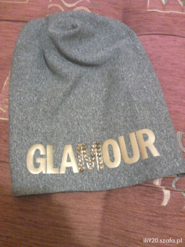 Nakrycia głowy Blogerska czapka Glamour