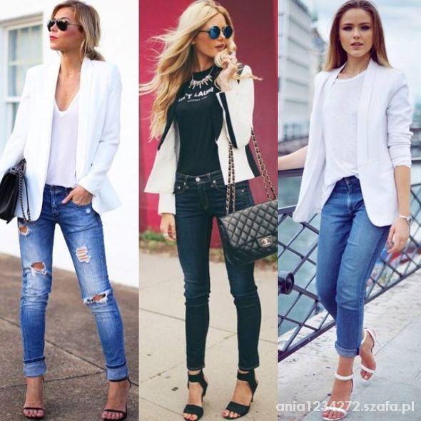 jeans stylizacje