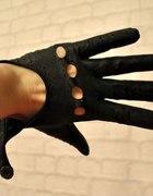 138 Skórzane rękawiczki