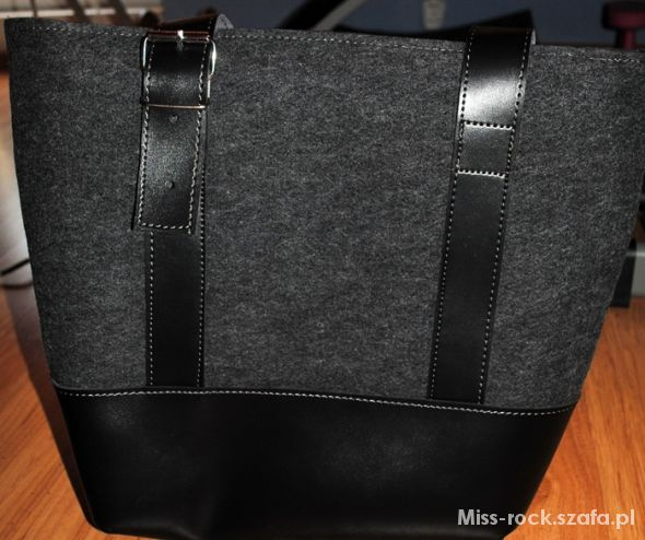duży shopper bag