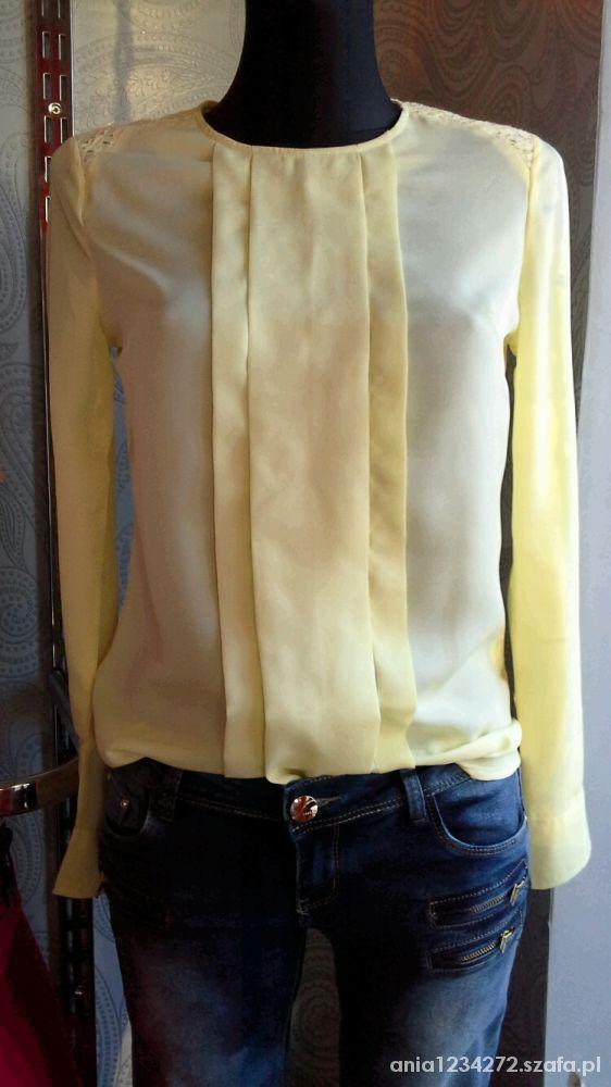 Cytrynowa bluzka