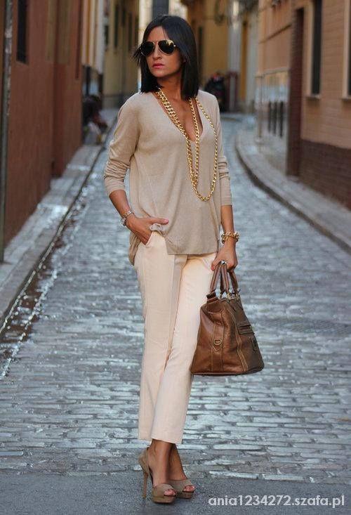 Eleganckie kremowa elegancja
