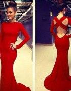Przepiękna długa suknia