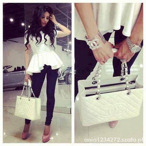 Eleganckie czarno biała