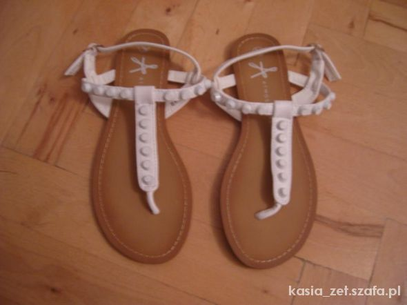 japonki sandały białe ATMOSPHERE POSZUKIWANE...