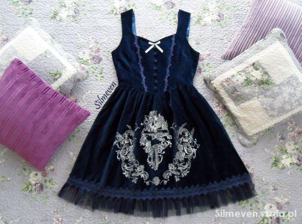 Suknie i sukienki Surface Spell Gothic Judgement Day JSK