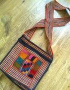 Torebka listonoszka aztec nepal