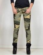 Military spodnie rurki M