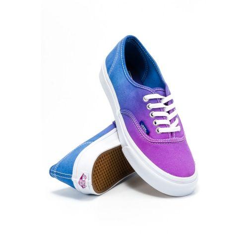 vansy fioletowo niebieskie
