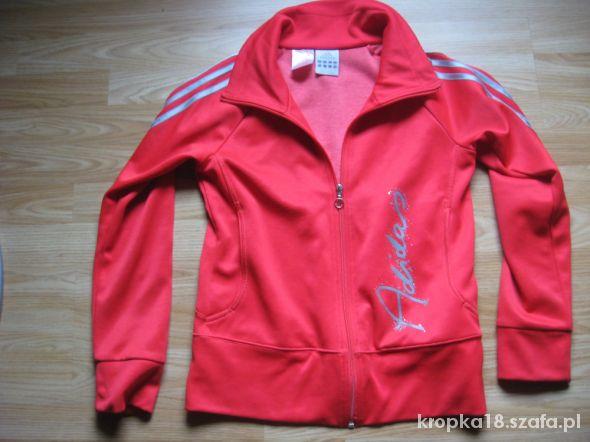 Czerwona bluza Adidas S M