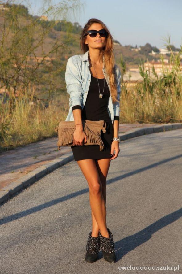 Mój styl sukienka & koszula dżinsowa