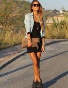 sukienka & koszula dżinsowa