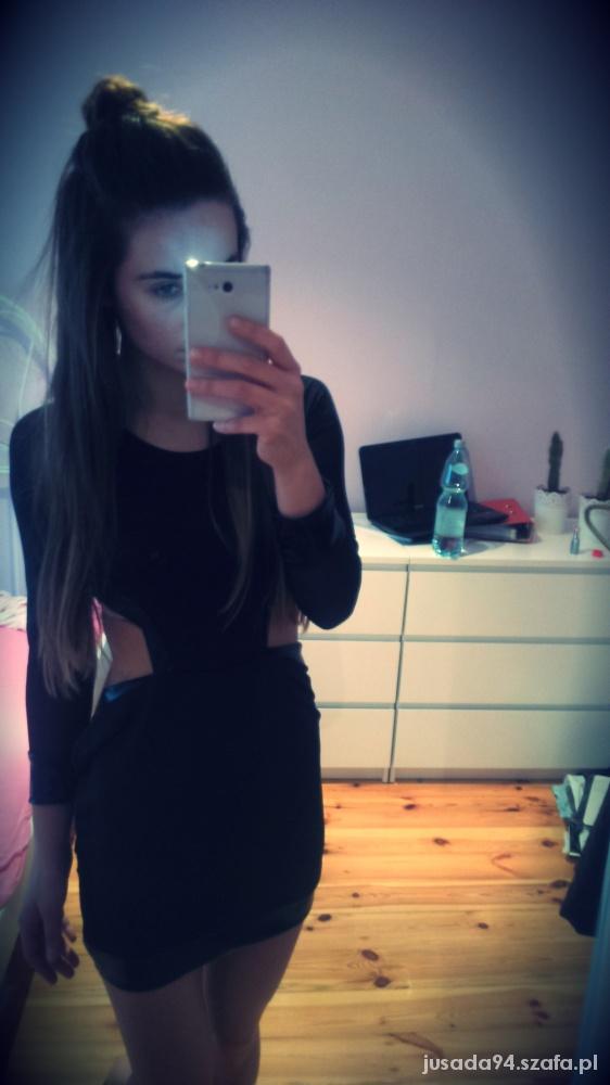 Imprezowe sukienka cut out