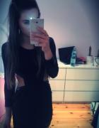 sukienka cut out