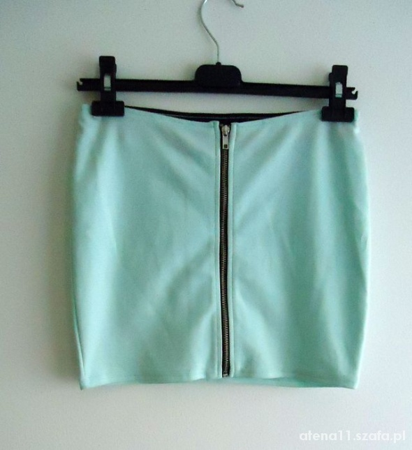 Spódnice miętowa H&M