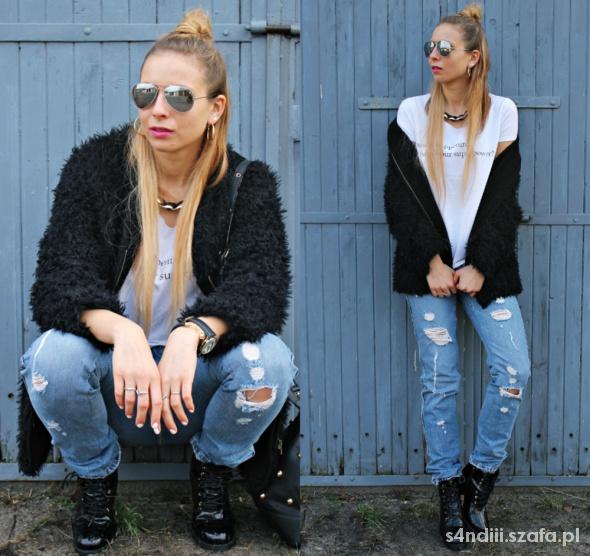 Blogerek Boyfriend jeans