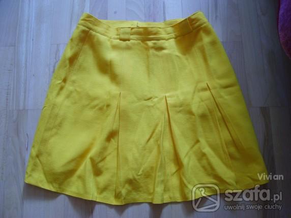 retro żółta spódnica vintage w Spódnice Szafa.pl