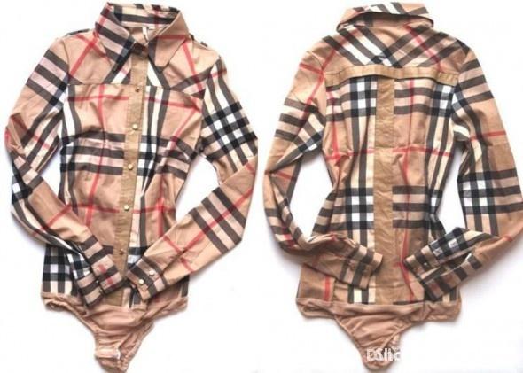 Ubrania koszula body burberry