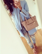 niebieska elegancja