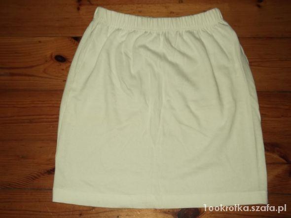 Spódnice Biała spódniczka rozmiar 36