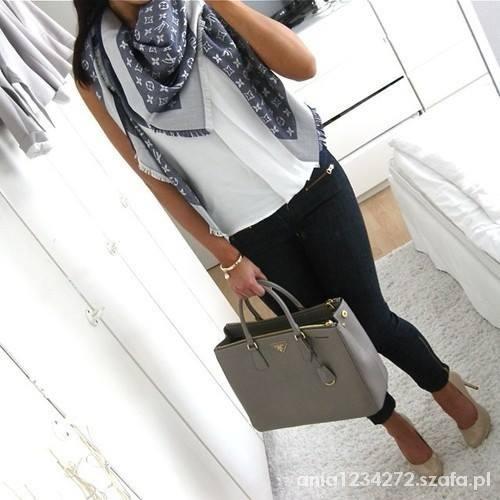 Eleganckie szaro biała elegancja