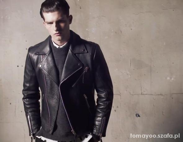H&M men biker jacket