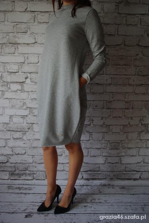 74b8be54af WŁOSKA BAWEŁNIANA SUKIENKA TUNIKA TUBA DRES w Suknie i sukienki ...