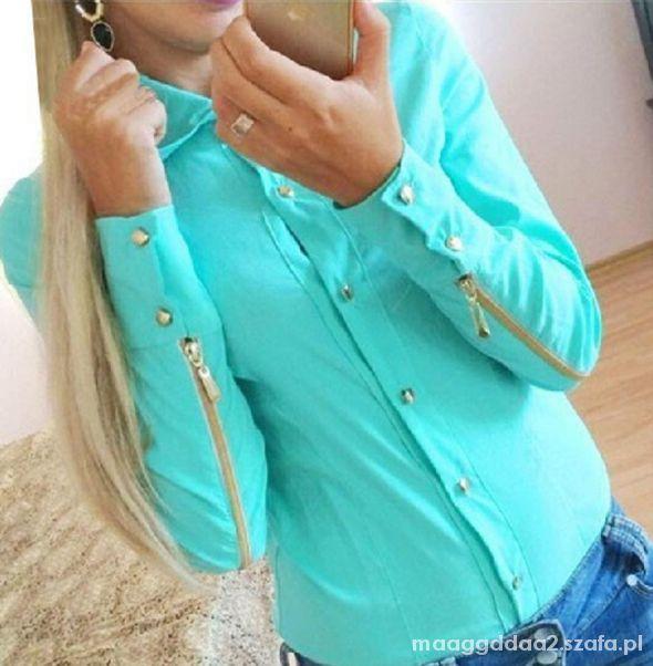 Koszula modna zamek