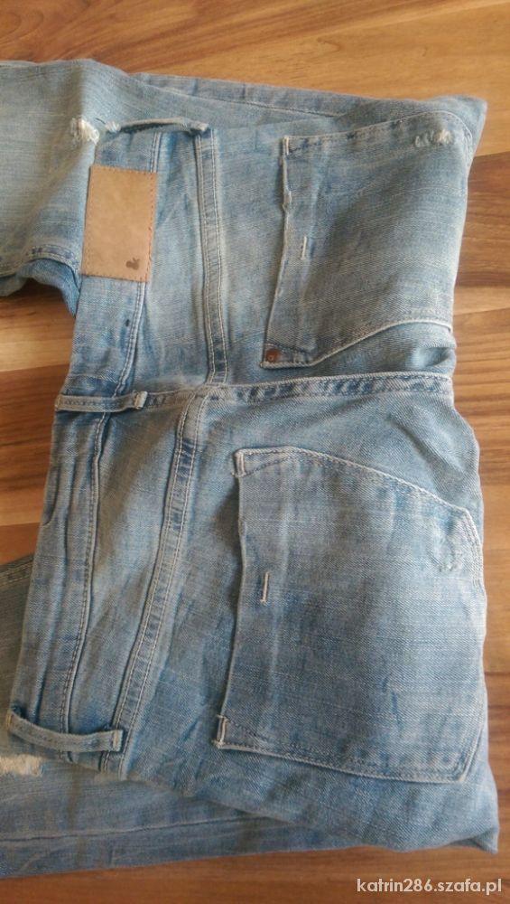 Spodnie z dziurami H&M