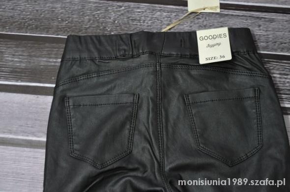 Goodies woskowane legginsy rurki 36 38 poszukiwane...