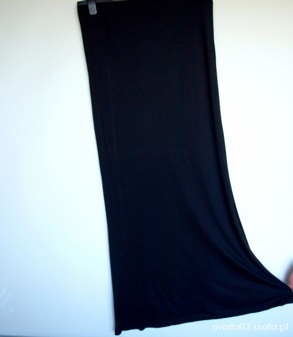 Spódnice Czarna spódnica maxi