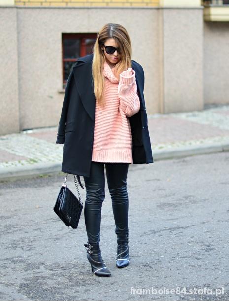 Mój styl Pink knit