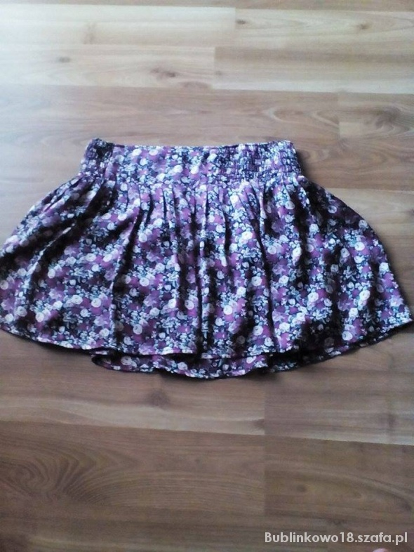 Spódnice Krótka spódnica w kwiaty